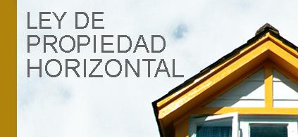 ley propiedad horizontal: