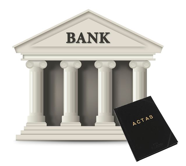 apertura de una cuenta bancaria: