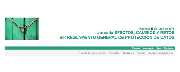 Reglamento europeo RGPDUE. Prioritario  Universidad