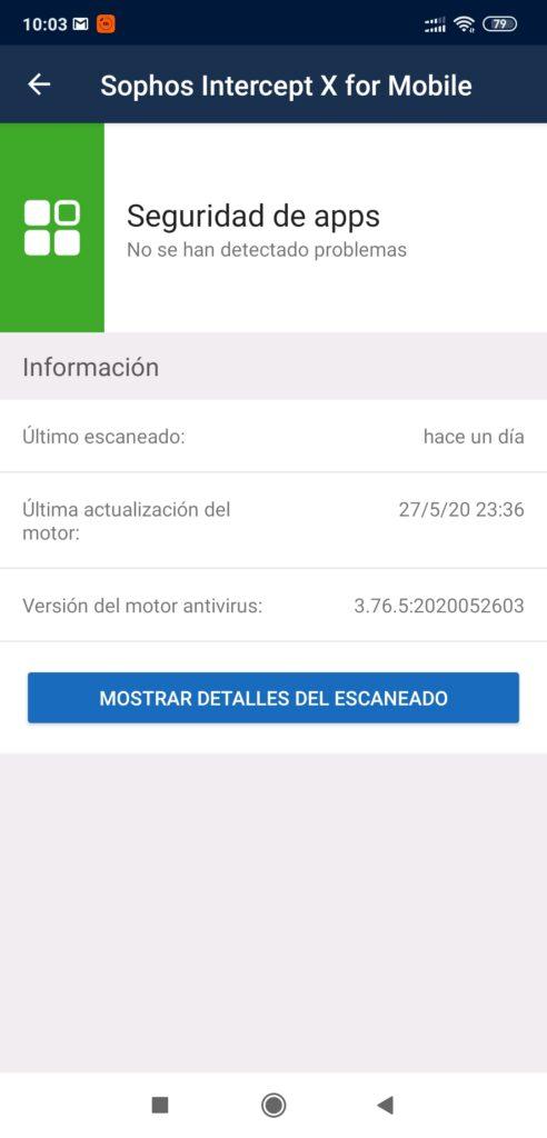 sophos intercept x - seguridad de apps